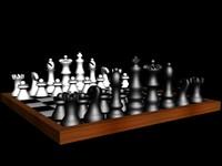 chess s 3d model