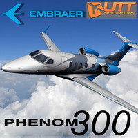 3ds max embraer phenom 300