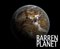 Alien Barren Planet