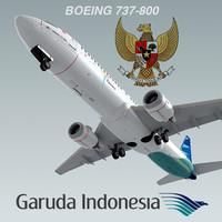 Boeing 737-800 Garuda Indonesia