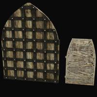 medieval doors 3d max