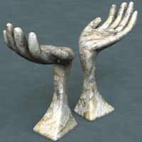 Sculpture (hand)