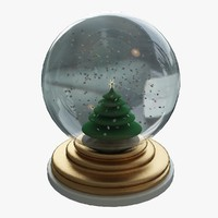 3d snowglobe decoration