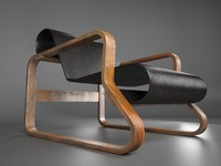 3ds max danish chair