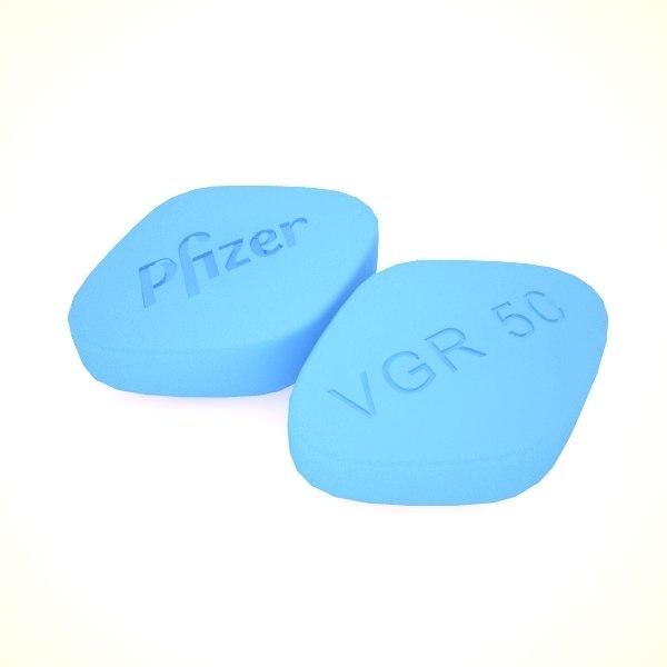 Pfizer blue pill vgr 50