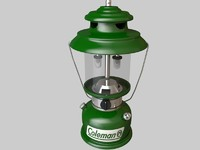 3d model lanterns light equipped