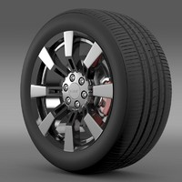 GMC Denali Hybrid wheel
