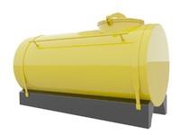 3d cistern modelled