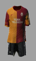 Soccer Kits - Animated (Galatasaray)