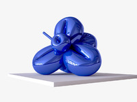 3d contemporary jeff koons