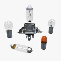 maya car lamps