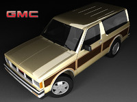 3d model gmc jimmy mk1