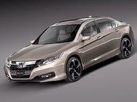 honda accord sedan phev 3d 3ds