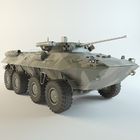 3d model btr-90 sprout