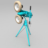 Softball Pitching Machine