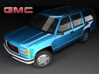 GMC Yukon Mk1 6door FL