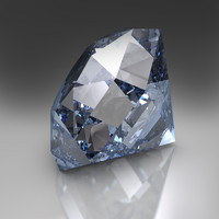 3d model diamond gi hdr