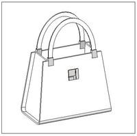 3d handbag bag