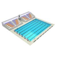 3d arena pool model