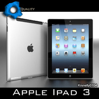 3d apple ipad 3 wi-fi