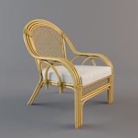 3d rattan chair