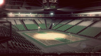 basketball arena interior scene obj