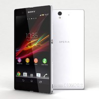 3d sony xperia z white model