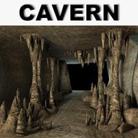 cave games 3d model
