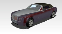 rolls royce phantom drophead 3dm