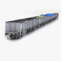 TCDD Eaos-wu Gondola Wagon