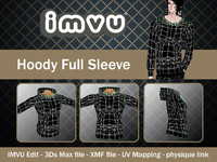 3d model hoody imvu file