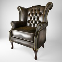 Queen Anne armchairs