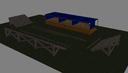 battle scene 3D models