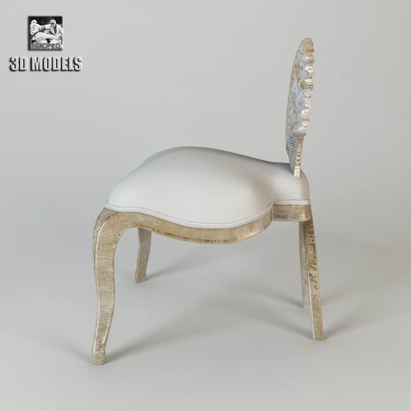 christopher guy venus 3d model - Christopher Guy Venus Shell Chair... by kupfer