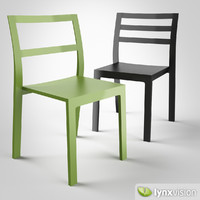 3d st10-3 chairs hussl model