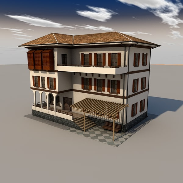 Building s 3d max for 3d house building games online