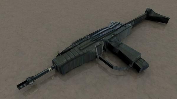 modern sub machine carbine
