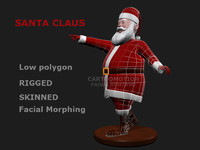 Santa Claus Rigged