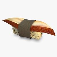 3d model sushi