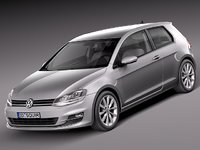Volkswagen Golf VII 2013 3-door