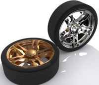 3d custom alloy wheel