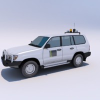 toyota landcruiser 200 4wd 3d max