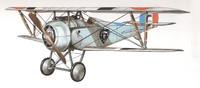3d model nieuport plane
