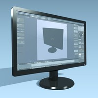 Philips 236v cad widescreen monitor