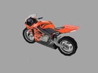 sport bike 3d 3ds