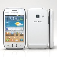 samsung galaxy ace duos 3d model