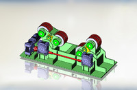 3d model welder rotator