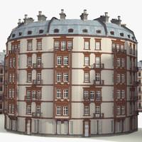 classical houses 22 3d obj
