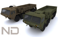 3d model oshkosh hemmt m977