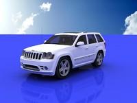 jeep grand cherokee 2009 3d